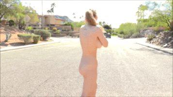alyssa weiber streaking