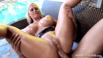 blonde milf fucked in ass