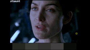 """Carrie Ann Moss """"The Big Ass Matrix!"""""""