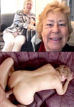 Cathy BBW Blowjob Slut Granny Loves Anal with Stranger in Hotel