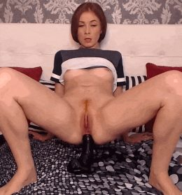 Craving for a BBC up her butt