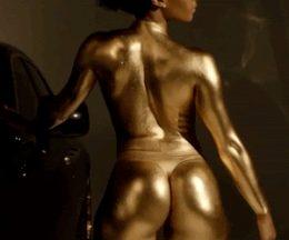 Cuerpo pintado de dorado!