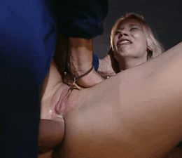 My daughter swears she hates anal, but the cream cumming out of her pussy says otherwise!