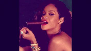 Rihanna – Smokin' Ass!