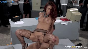 The new sales rep takes it in the ass