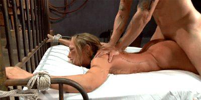 Tie her up & fuck her ass